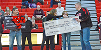 SCSB staff presents $3700 towards STEM program